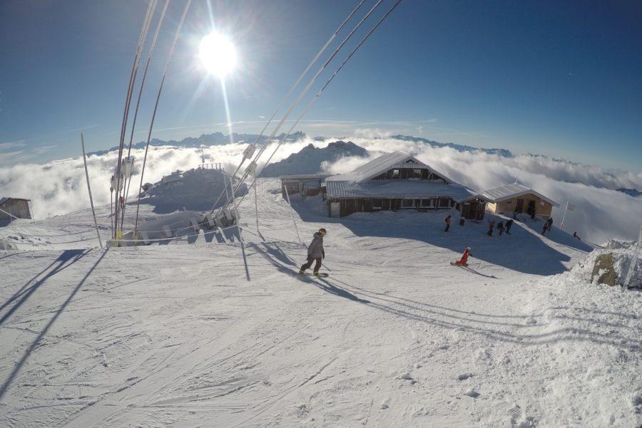 val thorens, wintersport, snowboarden, daisy