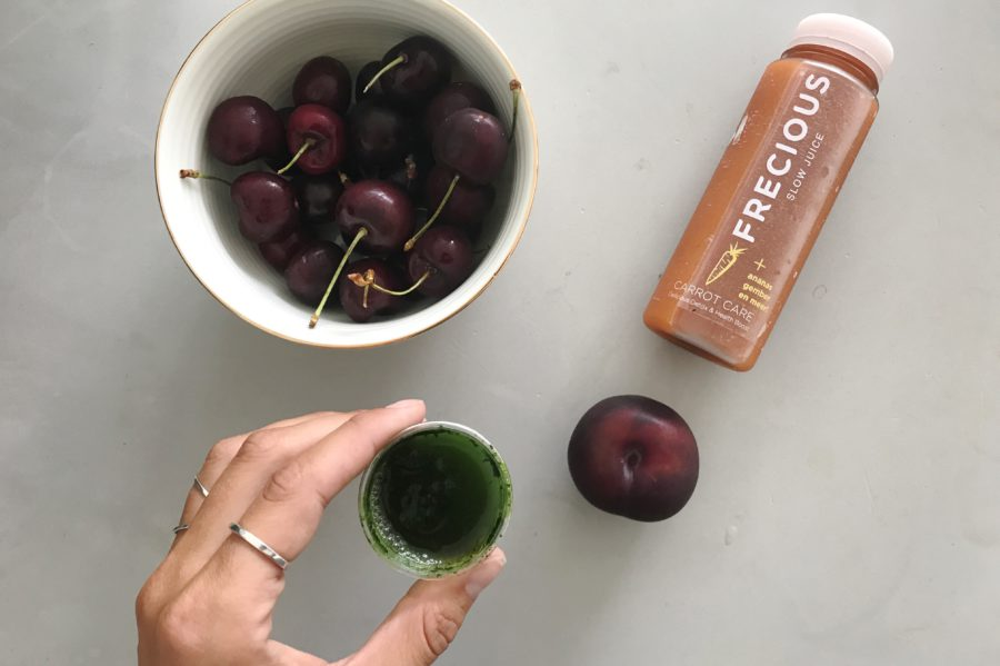 Frecious, fruit, kersen, Frecious Zomer Detox