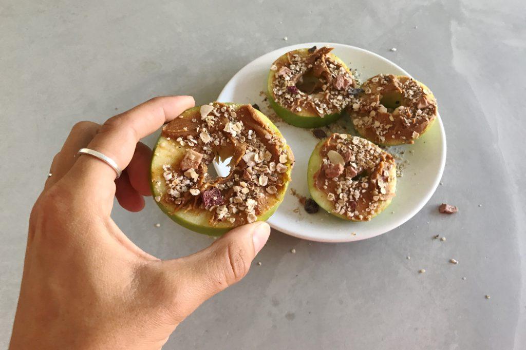 Frecious Zomer Detox, appel pindakaas