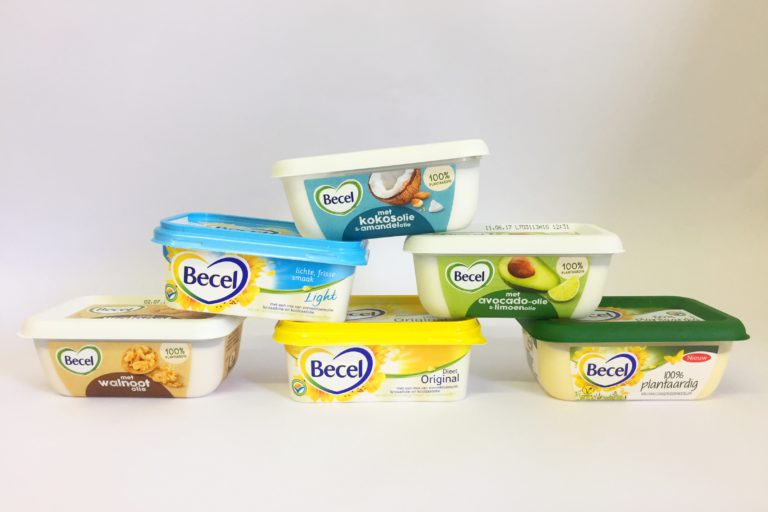 Becel, boter, margarine, plantaardig, unilever