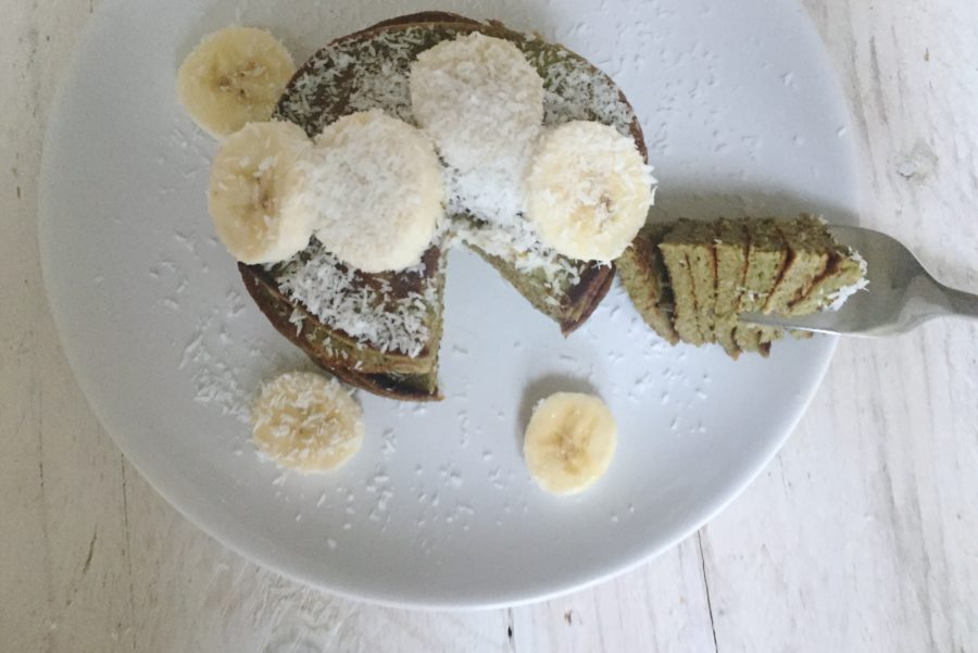 matcha pannenkoeken, superfoodies, matcha pancakes!