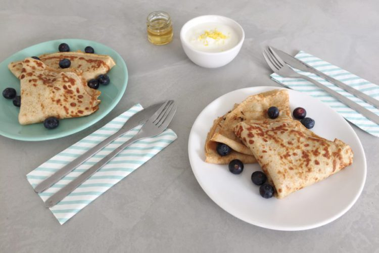 Arla Lactofree - blueberry pancakes lactosevrij