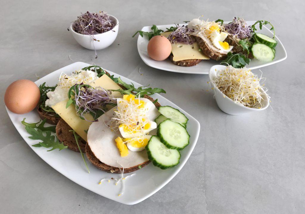 paas Sandwiches met kiemen