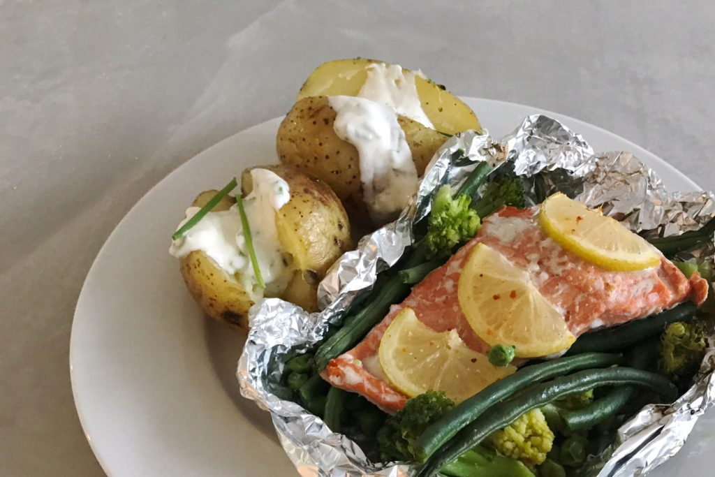 zalmpakketje uit de oven, Alaska Seafood, zalm