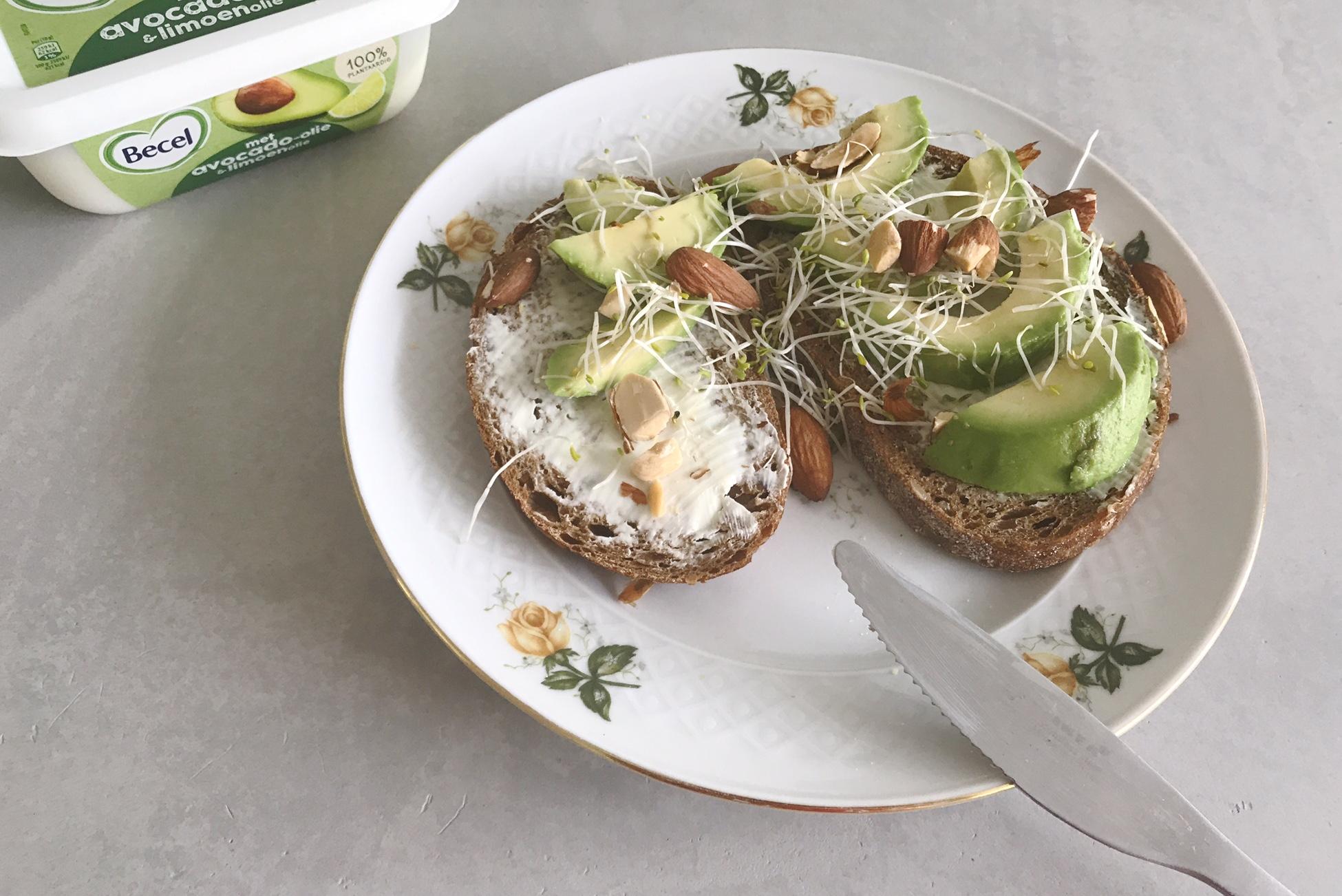 becel plantaardig ontbijten