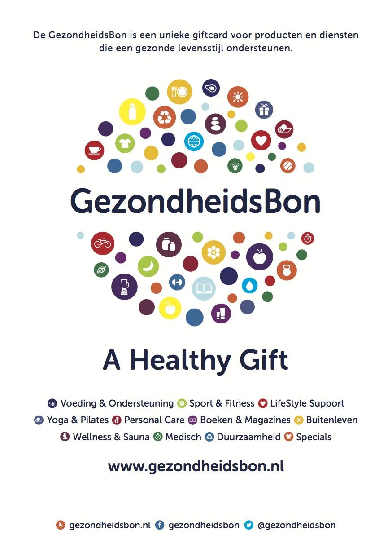 GezondheidsBon - A Healthy Gift
