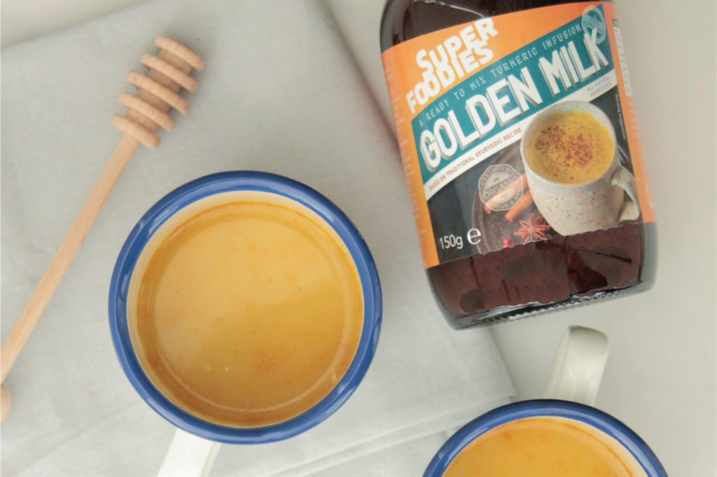 Golden milk , superfoodies
