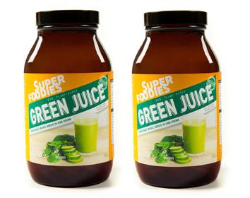 Greenjuice, poeder, smoothie