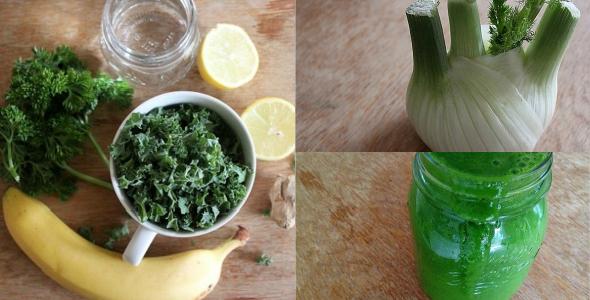 Groene smoothies van The Green Creator