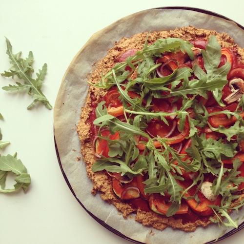 Skinny, gezonde pizza van Chickslovefood