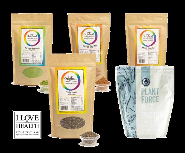 WIN || I Love Health superfood pakket - I Love Health