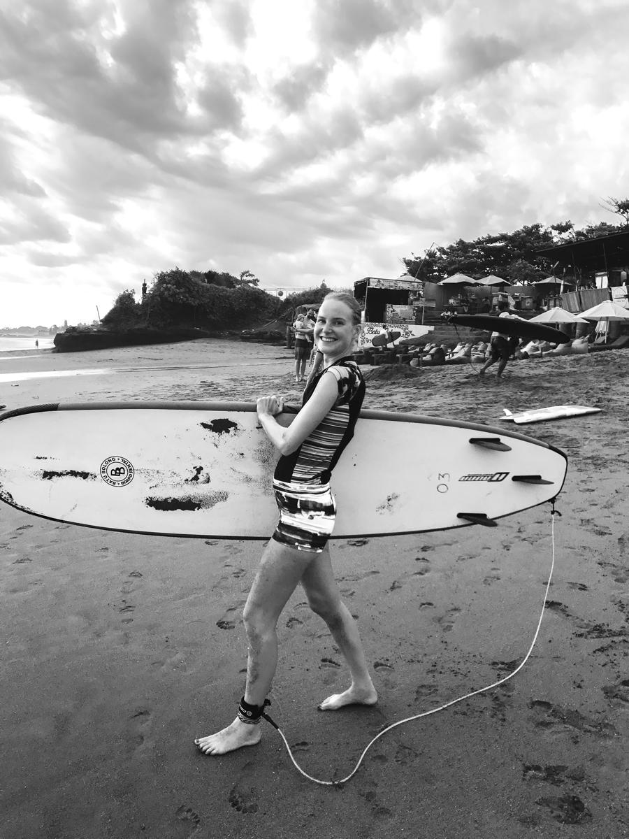 I Love Health Retreat Bali april 2017 surfen