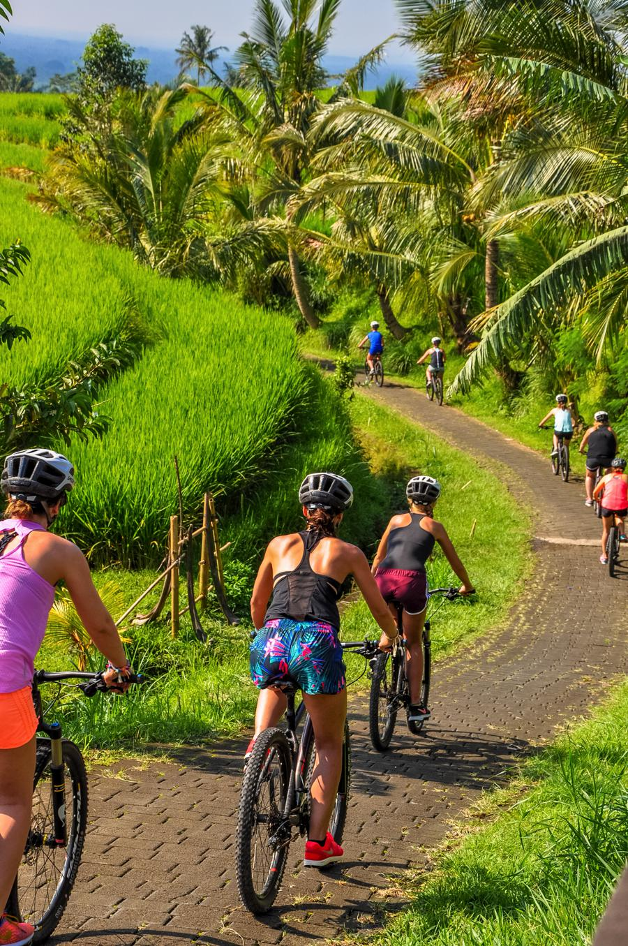 I Love Health Retreat Bali april 2017 mountainbike tour bali bike park