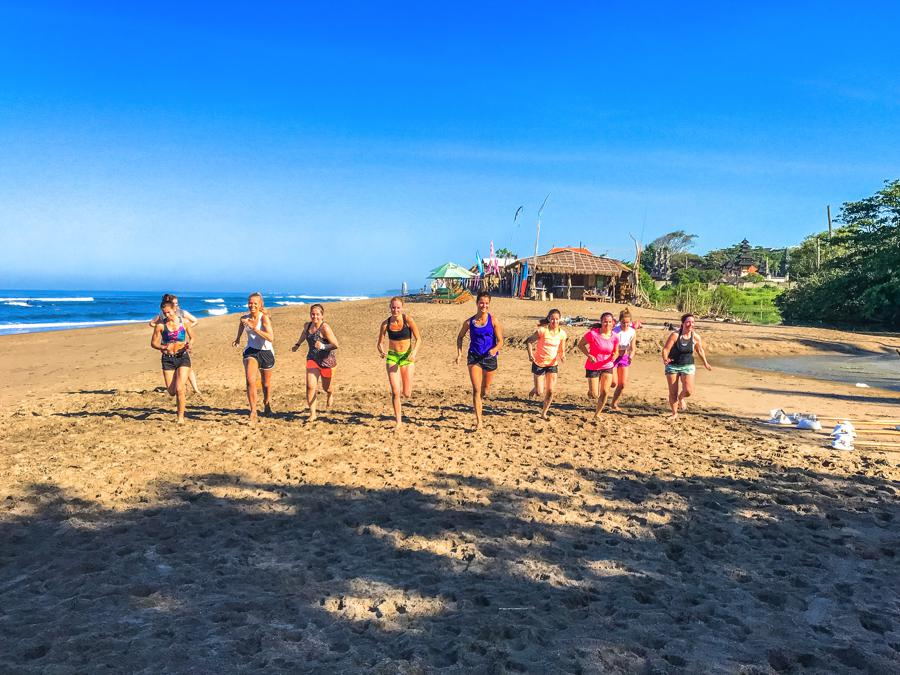 I Love Health Retreat Bali april 2017 bootcamp