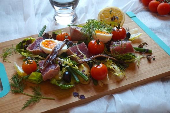 eetdagboek Hannah Vreugdenhil salade nicoise