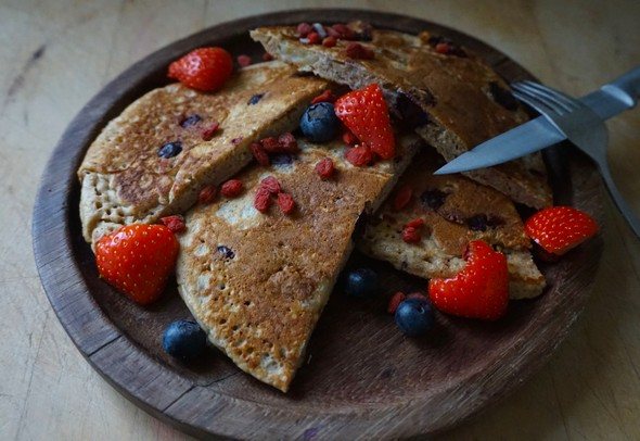 eetdagboek Hannah Vreugdenhil ontbijt pannenkoekjes