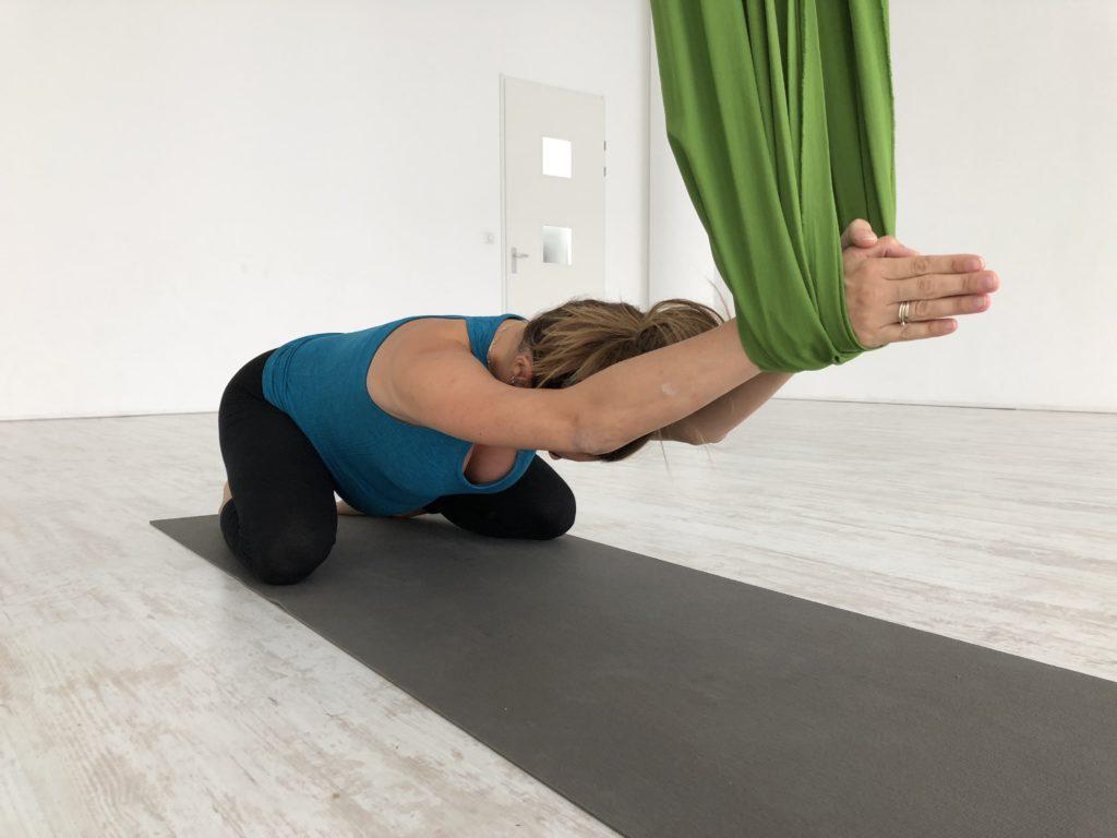 tula aerial yoga zwangerschap