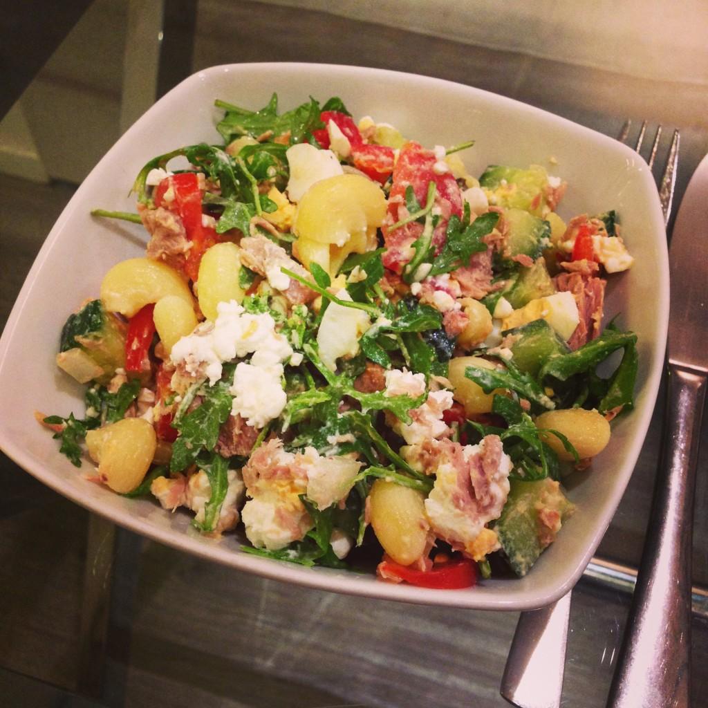 Lunch salade tonijn
