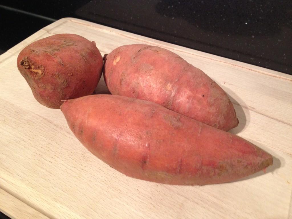 Zoete aardappel voor superfood frieten