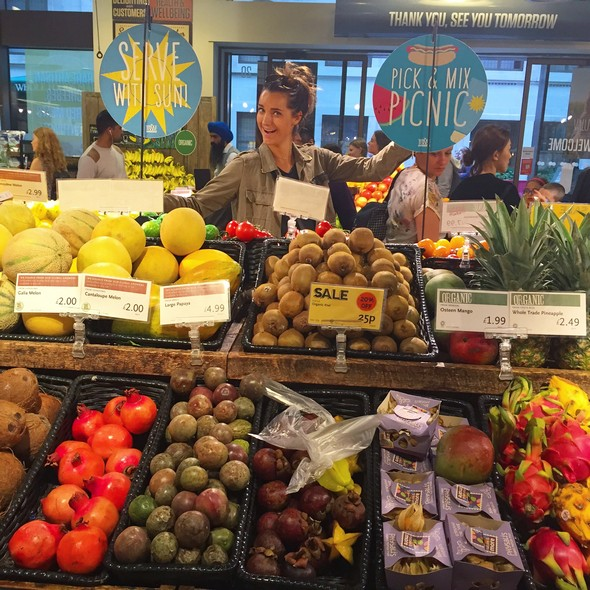 londen healthy food tips, whole foods