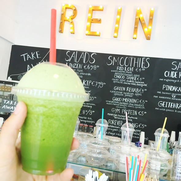 rein, rehab juice, smoothie