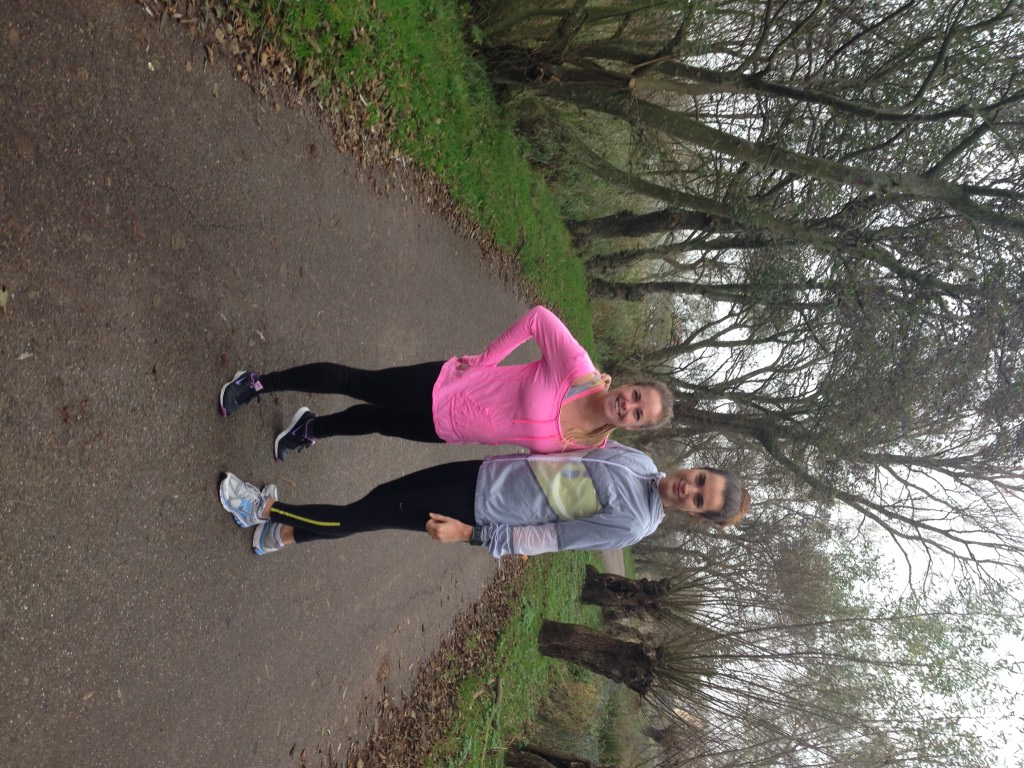 Met Fay in Zeeland hardlopen