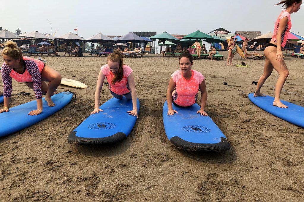 surfen, i love health retreat Bali september 2018