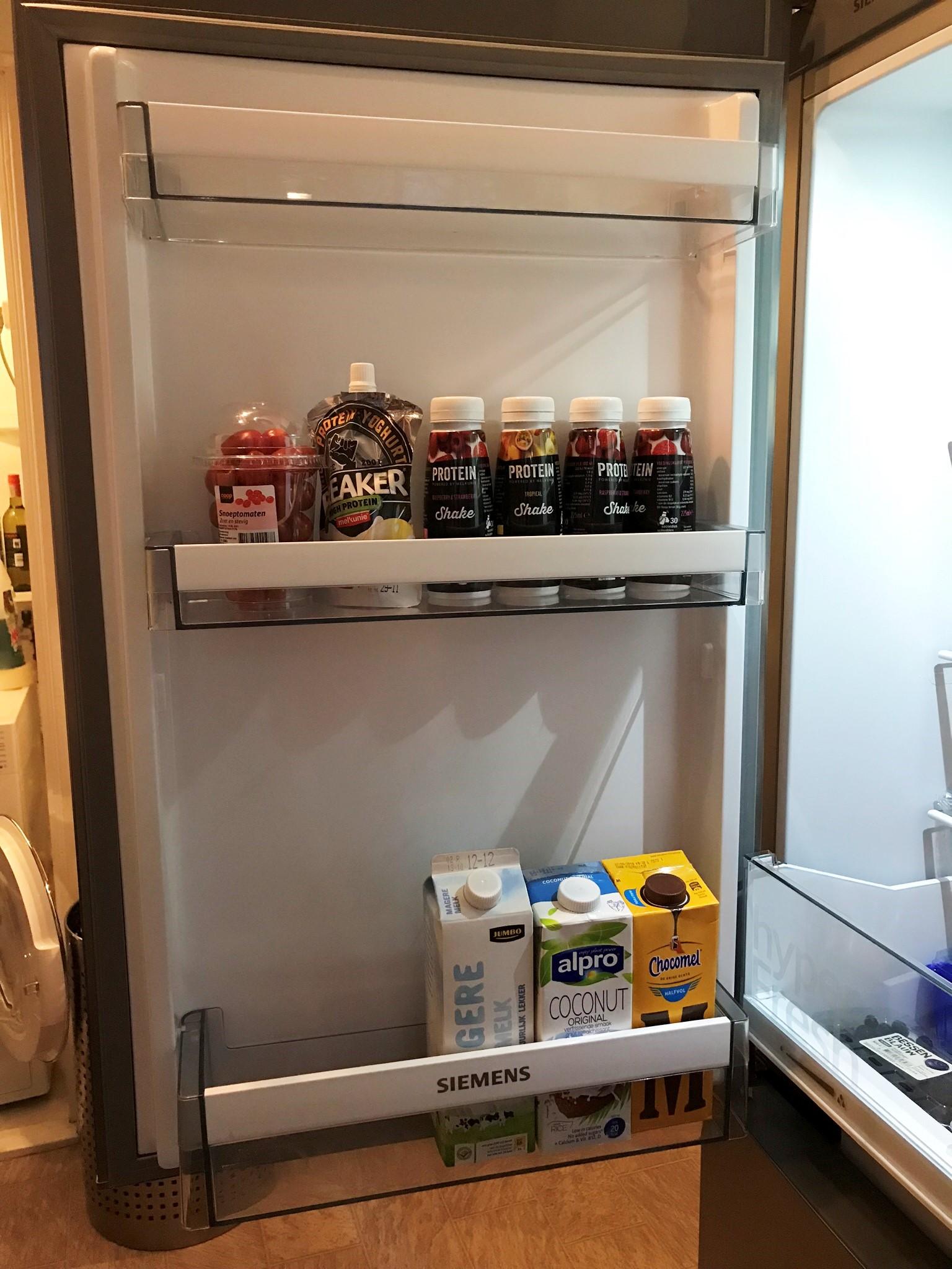 kijkje in de koelkast