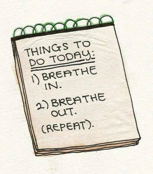 Adem in, adem uit - ademtherapie