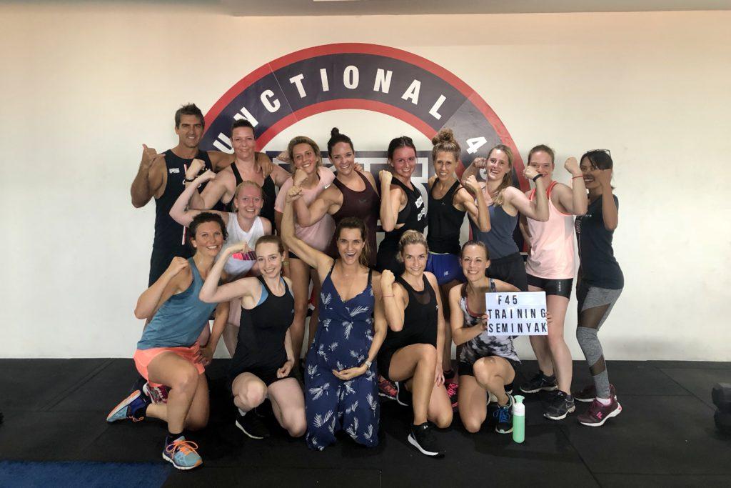 f45 seminyak, hitt, i love health retreat Bali september 2018