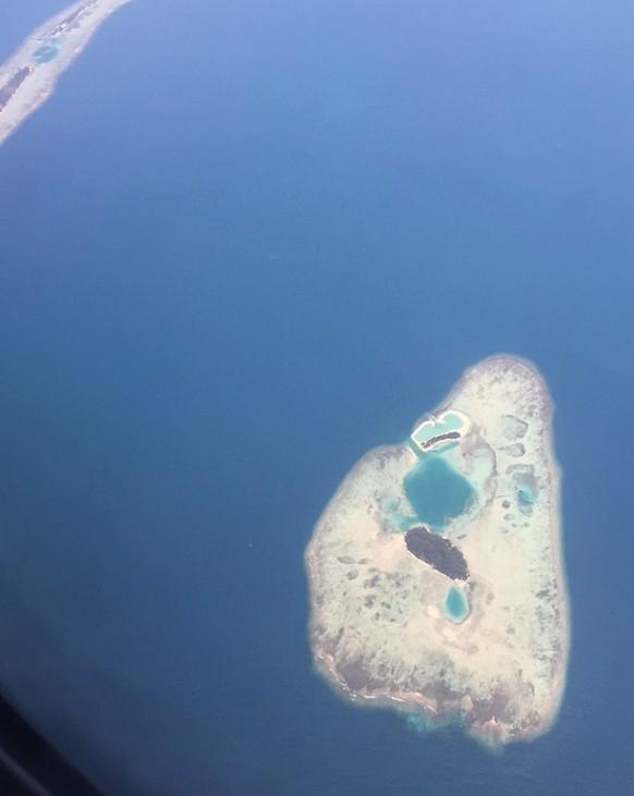 vliegtuig, eiland, indonesie