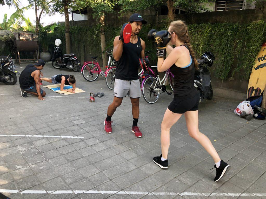 personal training, i love health retreat Bali september 2018
