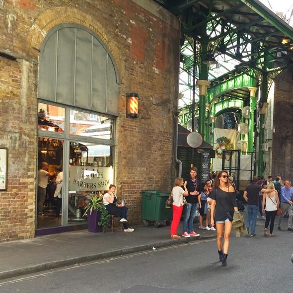 londen healthy food tips, borough market