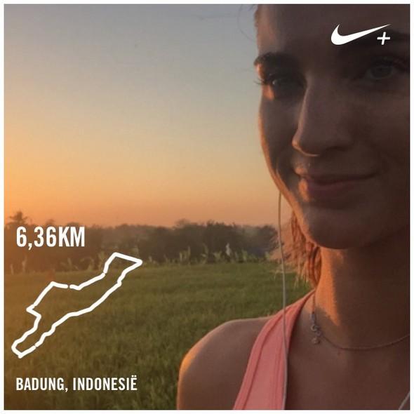 Mijn eerste rondje hardlopen in Bali: good to be back!