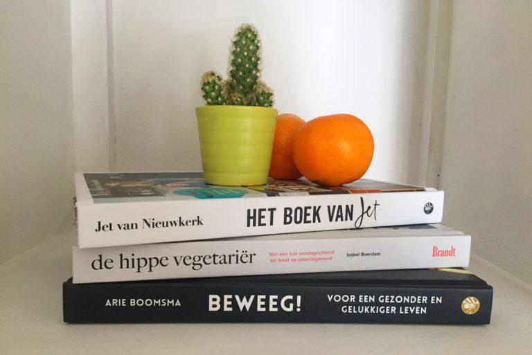 gezonde boeken, jet van nieuwkerk, arie boomsma, de hippe vegetariër