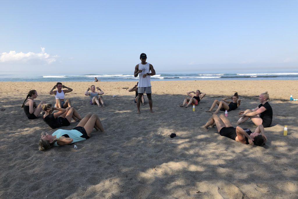 bootcamp, i love health retreat Bali september 2018