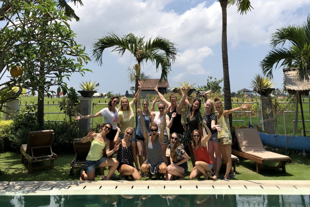 bona kubu, groepsfoto, i love health retreat Bali september 2018
