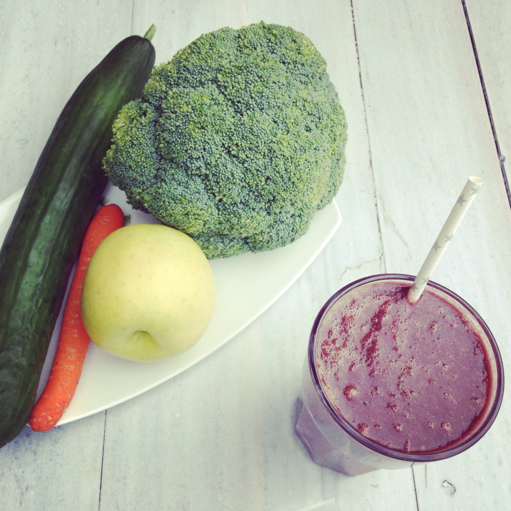 Detox juice broccoli groentesap