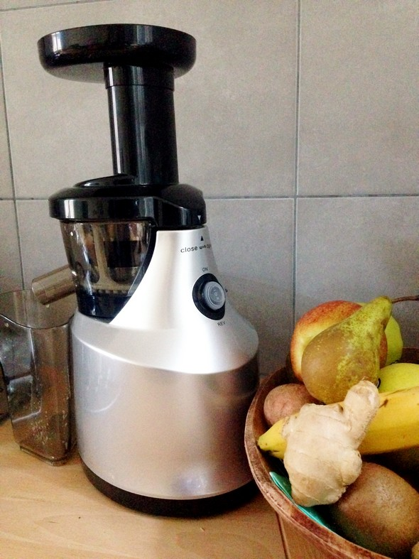 Juiceme Slowjuicer : GETEST & WIN JuiceMe Slowjuicer - I Love Health