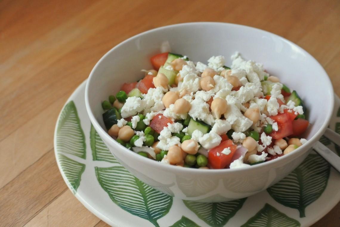 kikkererwten salade