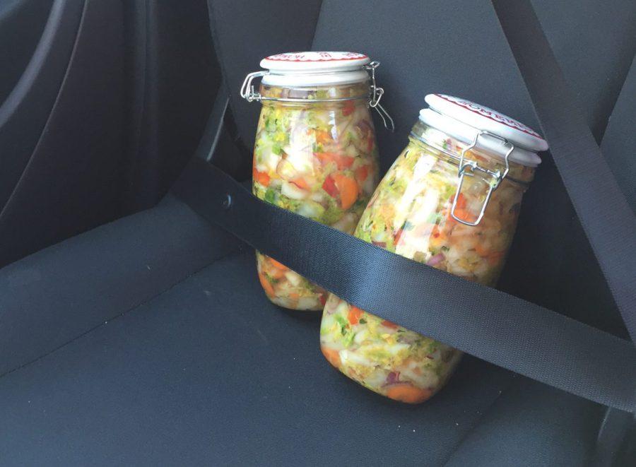 kimchi, fermenteren