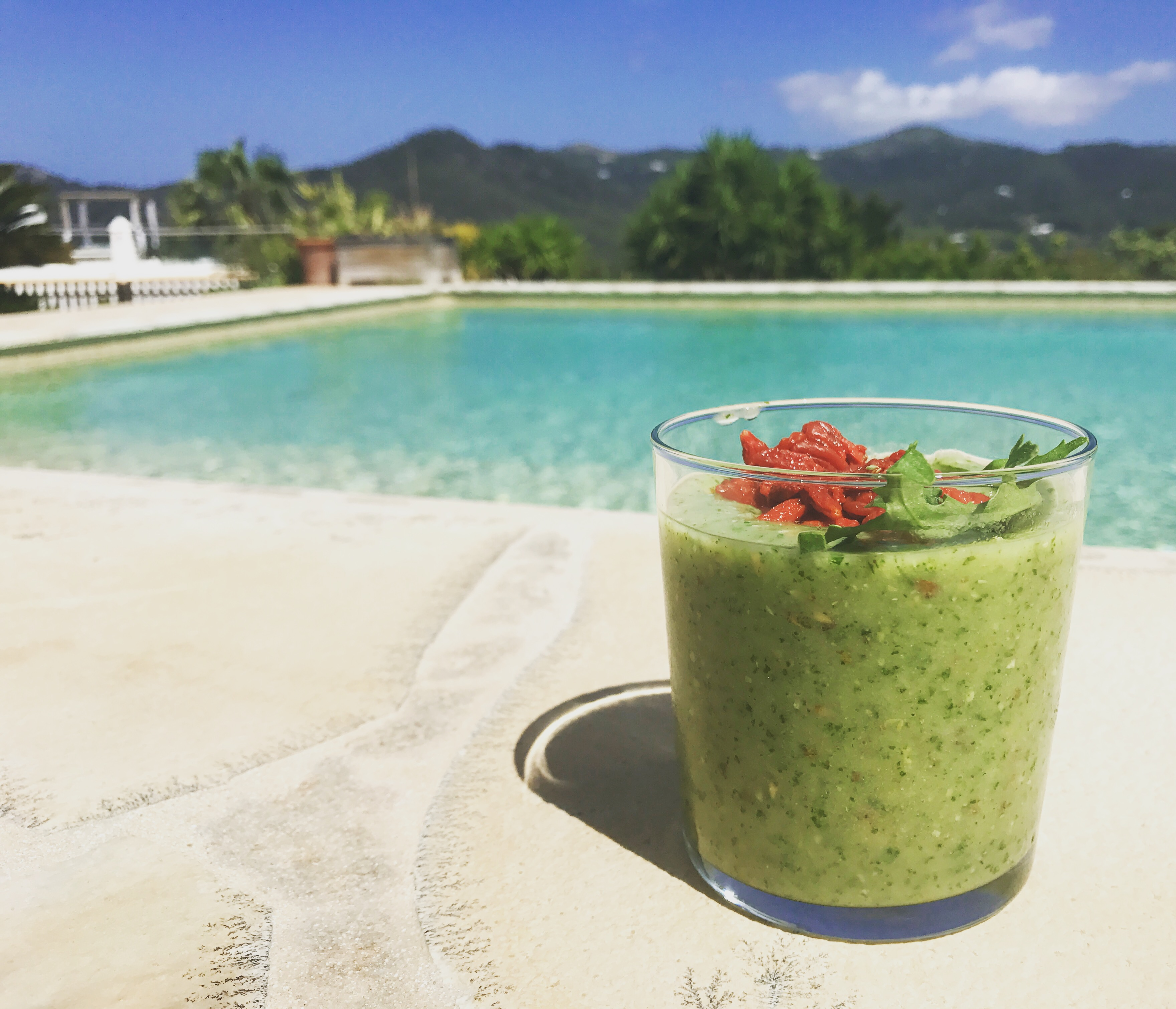i love health detox retreat ibiza, smoothie