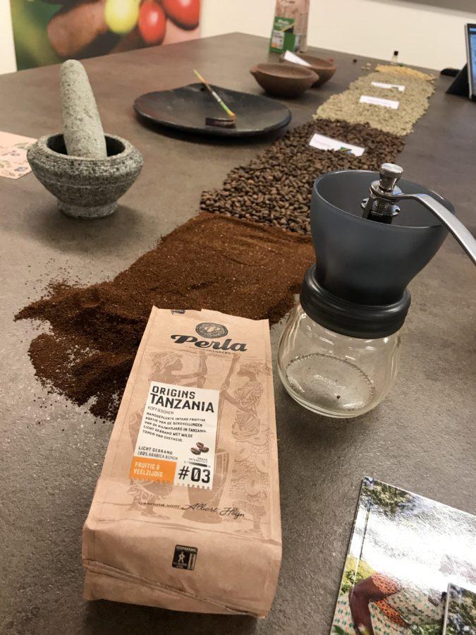 Perla, koffie, koffiebonen, tanzania