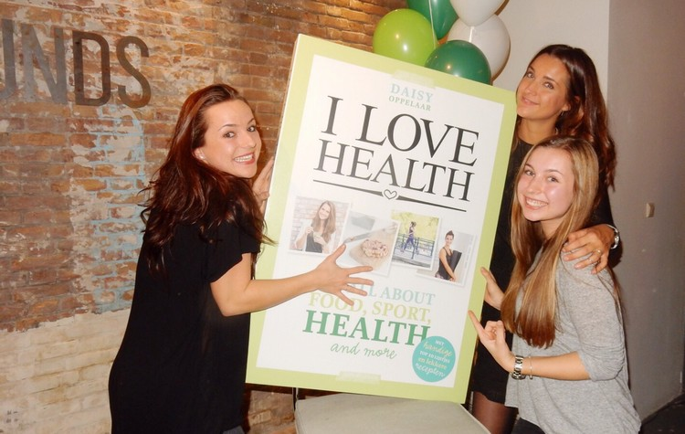 boeklancering I Love Health boek launch