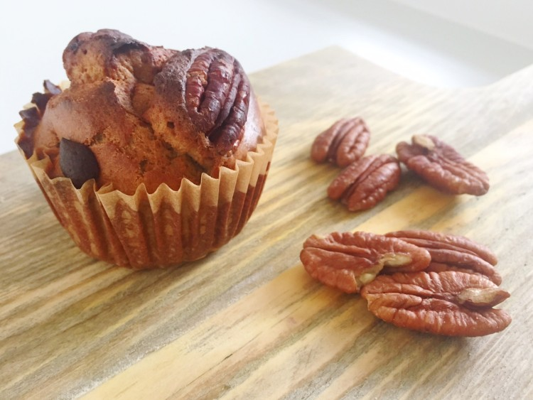 pecan speculaas muffins