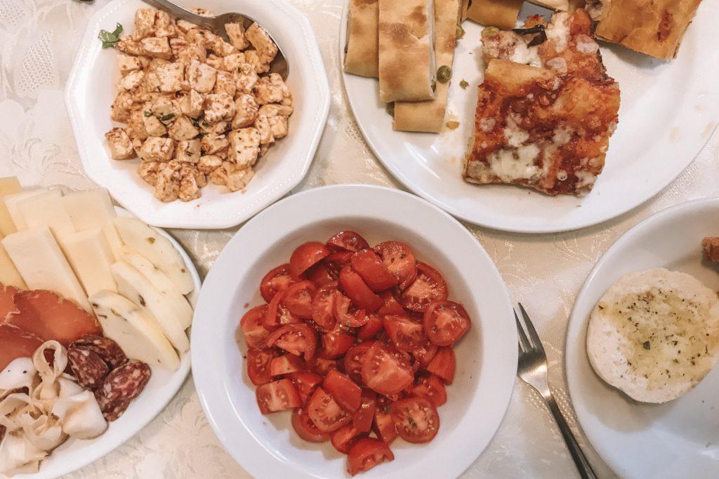 kaas en tomaten sicilie