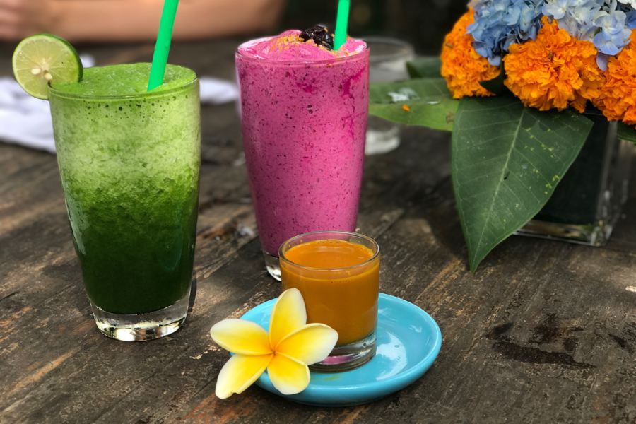 i love health retreat bali, najaar 2017, juice, smoothies