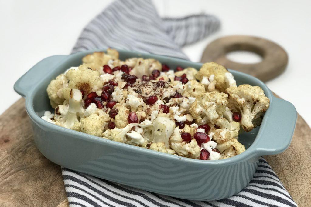 bloemkool, salade, recept