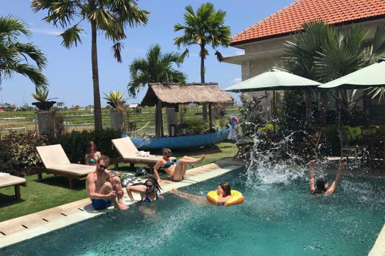 i love health retreat bali, najaar 2017, zwembad, bona kubu
