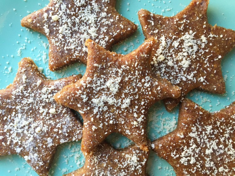 kerst gingerbread cookies
